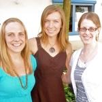 Kristi, Emily and Anna