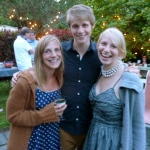 Dahlstrom siblings at Noah and Lindsey's rehearsal dinner.