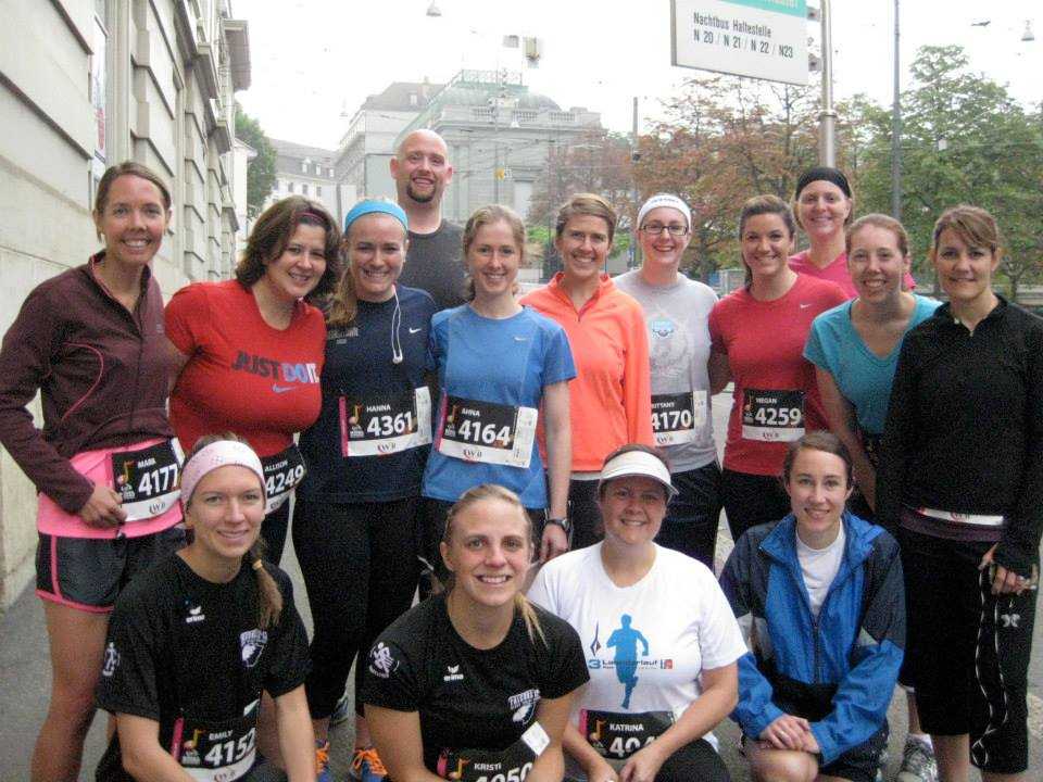 The Kandern contingent of the Basel 10K (and Half Marathon)!