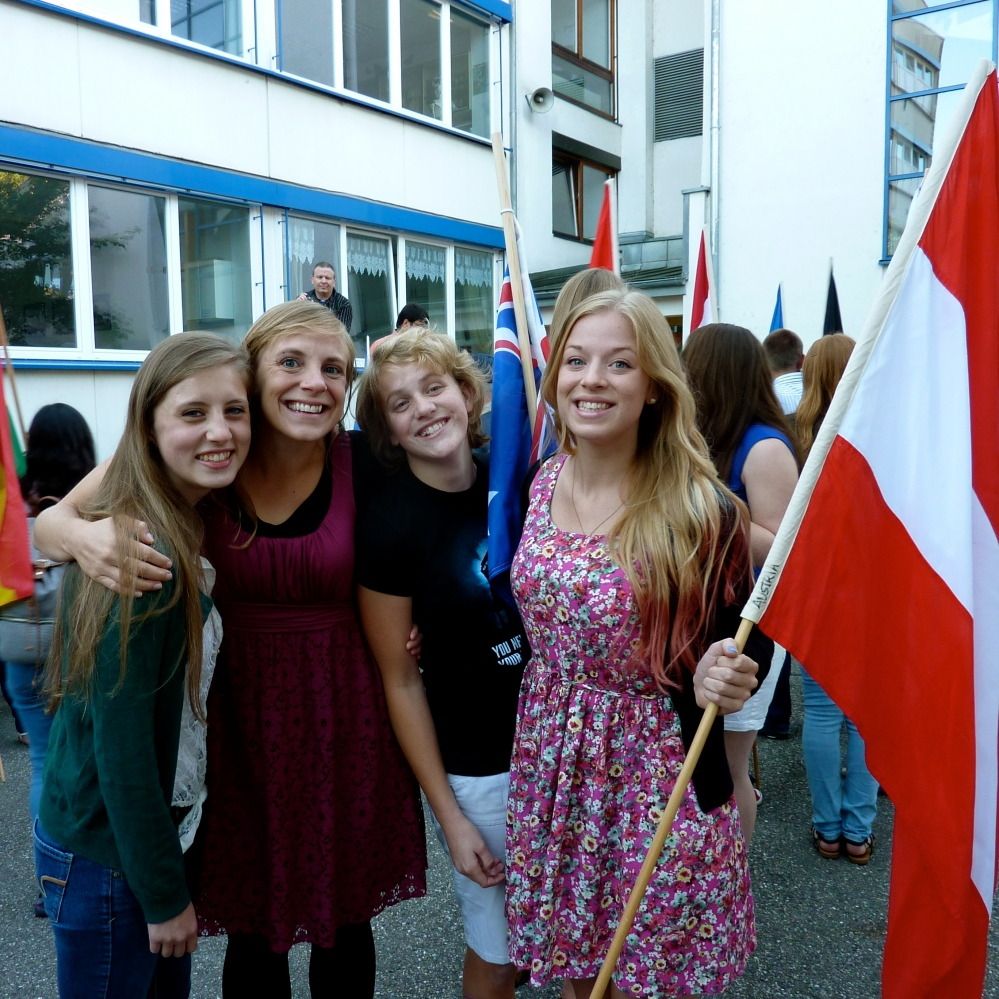 Small group, loving Austria together