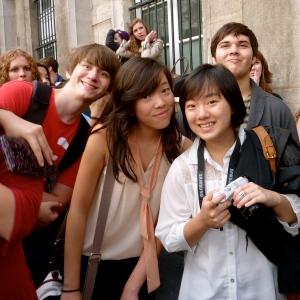 Junior year, Paris.