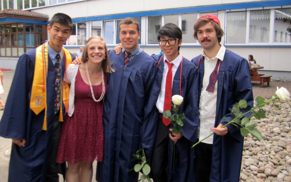 Men of Maugenhard graduate!