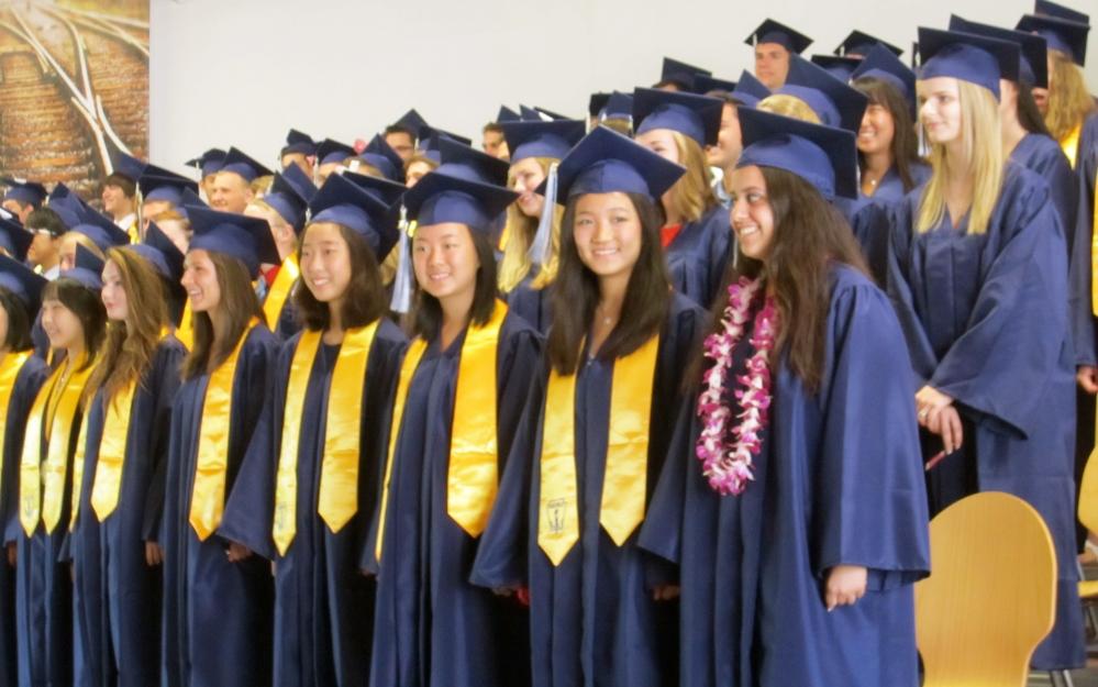 The Class of 2014 graduates!