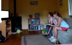 Watching the Spain vs. Germany semi-final in 2010