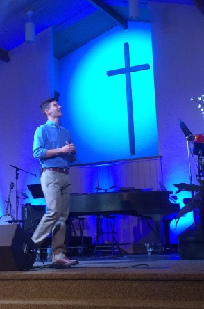 Timmy got to preach at Virginia Beach Community Chapel this Father's Day.