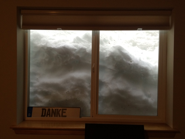 Our bedroom window.