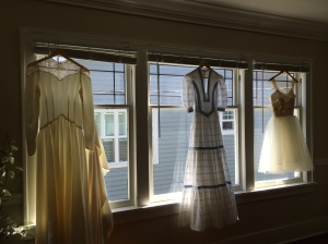 The three wedding dresses of Mrs. Holly Prairie