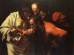 """Incredulity of Saint Thomas,"" Caravaggio"